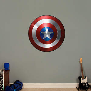Captain America: The Winter Soldier - Vibranium Shield Fathead Wall Decal
